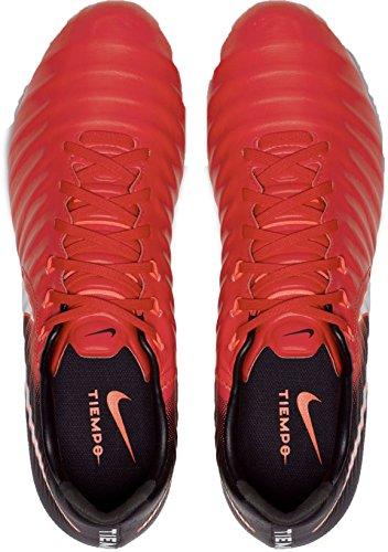 Herren Nike Tiempo Fg Iii Eredità Fußballschuhe Marciume (università Rosso / Nero / Brillante Cremisi / Bianco 616)