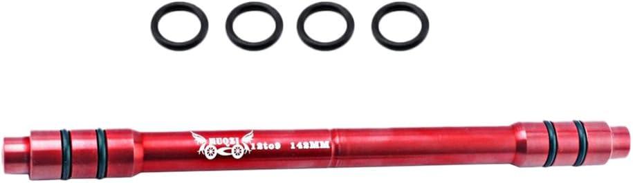 142mm Schwarz Fahrrad 12mm Bis 9 Steckachsen Schnellspanner 148