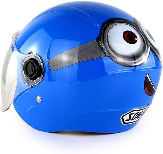 DYM258 Casco de Moto para niños Harley Carro de bateria Bicicleta ...