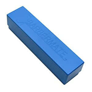 Blue BarberMate Blade Caddy with Detachable Lid