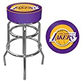 Trademark Gameroom NBA Los Angeles Lakers Padded Swivel Bar Stool