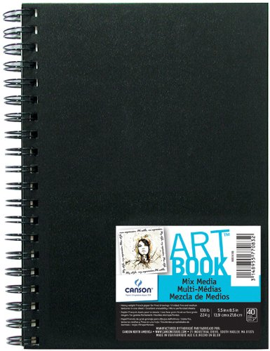 Strathmore 462-111 400 Series Mixed Media Pad, 11''x14'' Glue Bound, 15 Sheets by Strathmore