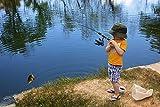 PLUSINNO Kids Fishing Pole,Light and Portable
