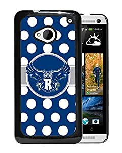 NCAA Rice Owls 9 Black Hard Shell Phone Case For HTC ONE M7