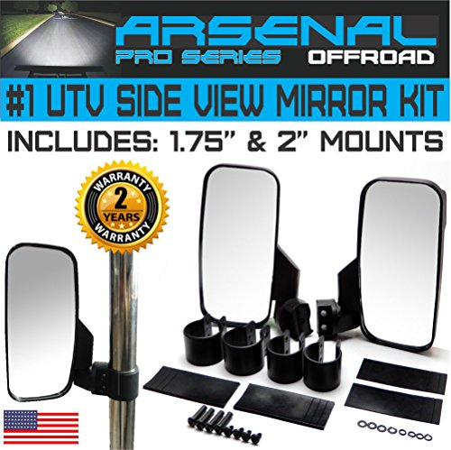 No.1 Offroad Rear View Side Mirror UTV KIT for 1.75