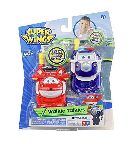 Super Wings Walkie Talkies Jett & Paul Toy by Super Wings