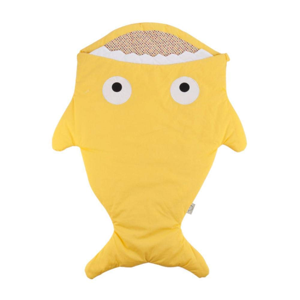 Indaco HJCWL 1 pz Sacco a Pelo Simpatico Cartone Animato Bambino Shark Sacco Invernale per Neonati Sacco Caldo Coperta per Bambini Calda Fascia