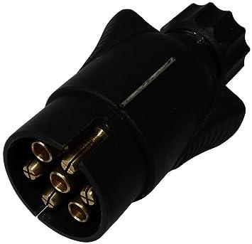 Aerzetix: Stecker 7Pin Stecker Anschluss der Anhängerkupplung 7 ...