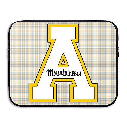 McBr Appalachian State University ASU Mountaineers Yosef Water-resistant Notebook Sleeve Cover Bag Size 15 Inch