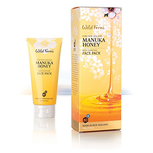 Wild Ferns Manuka Honey, Rotorua Mud, Kaolin, and Green Tea Deep Cleansing Healing Face (Green Tea Face Antioxidant)