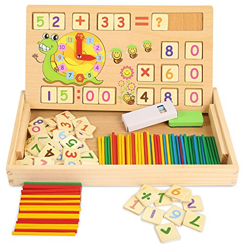 Used, ZKMESI Educational Counting Toys Math Number Counting for sale  Delivered anywhere in USA