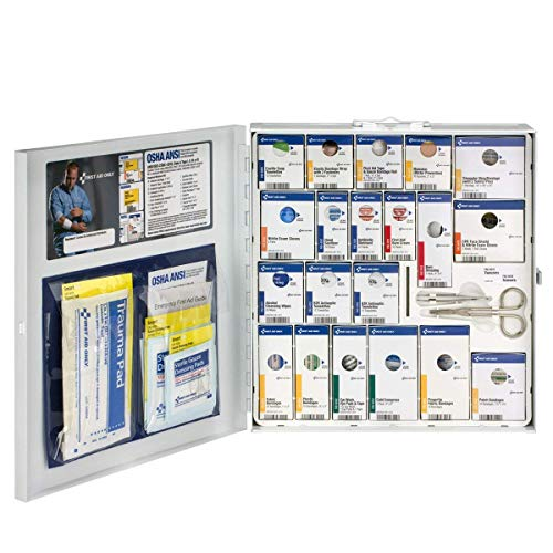 - Pac-Kit by First Aid Only 746004 Large Metal SmartCompliance First Aid Cabinet without Medications