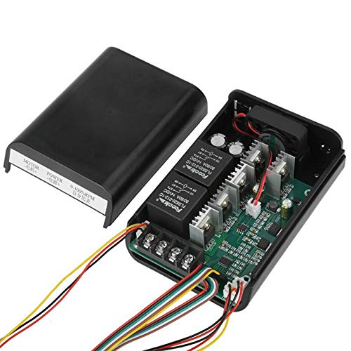 Motor Controller - Dc 10 55v 40a Digital Display Motor Speed Control Cw Ccw Reversible Switch - Display Reverse 500w Encoder Motor L293d L298n Reversible Digital Mc-60m Book Speed Board Dro ()
