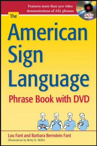 The American Sign Language Phrase Book with DVD (Best Places For Deaf To Live)