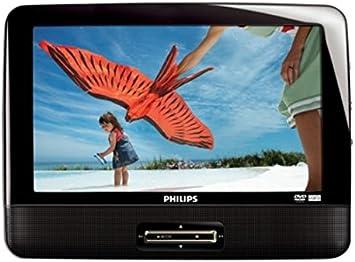 Philips PD9016P/37 reproductor de dvd/bluray portátiles Mesa Negro 22,9 cm (9