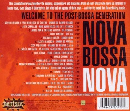 Nova Bossa Nova - Nova Bossa Nova - Amazon.com Music