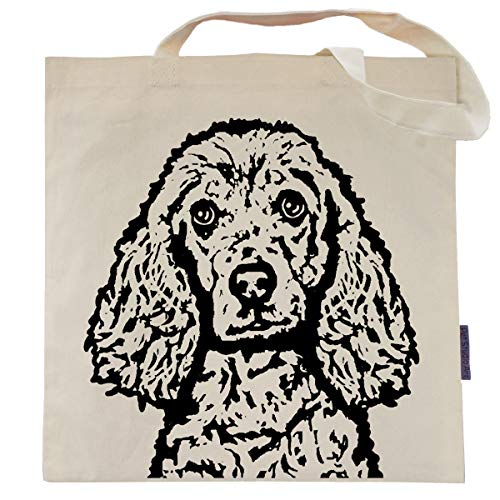 Bailey the Cocker Spaniel Tote Bag by Pet Studio Art
