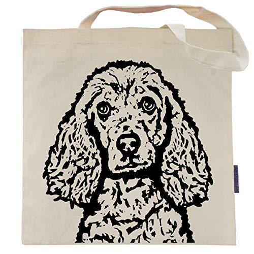 Bailey the Cocker Spaniel Tote Bag by Pet Studio Art ()