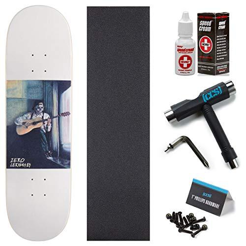 Zero Blues Cervantes Skateboard Deck - 8.50