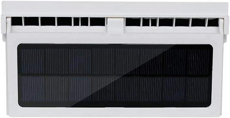 fineshelf Solar Powered Car Fan Cooler Air Vent Radiator Manual ...