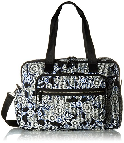 Vera Bradley Women's Iconic Deluxe Weekender Travel Bag-Signature by Vera Bradley