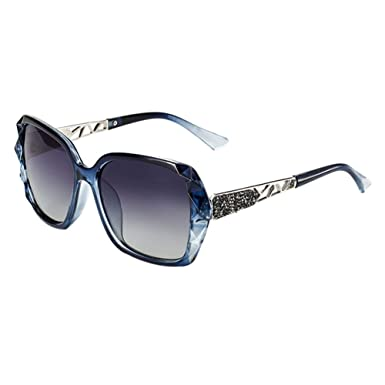 Sonnenbrille Frau Polarisierte Sonnenbrille Anti-UV Unisex Outdoor Aktivitäten Schützen Sie die Brille ( farbe : Lila ) S7cZhR2q4