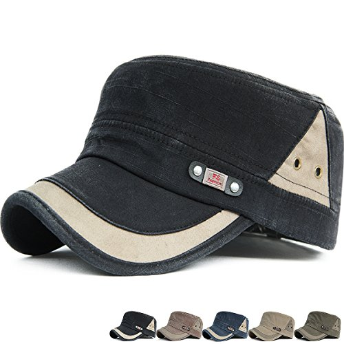 Old Style Baseball Cap - Rayna Fashion Unisex Adult Cadet Caps Military Hats Various Design and Colors