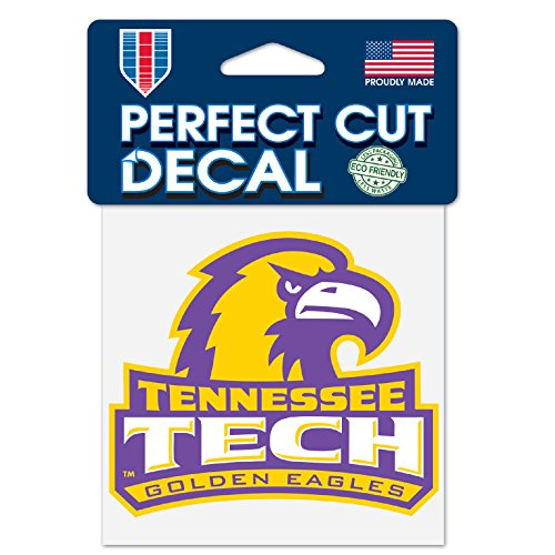 Tennessee Tech Eagles (Tennessee Tech Golden Eagles Perfect Cut Decal 4