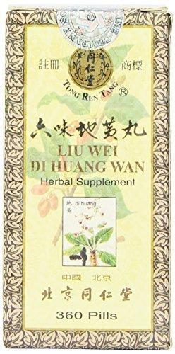 1 x Liu Wei Di Huang Wan - 360 pilules de Tong Ren Tang
