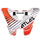 Atlas Air Brace Twister Neck Brace Orange Large Motocross MX Protection
