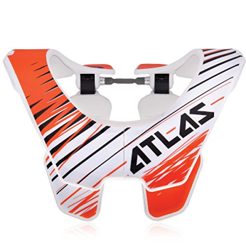 Atlas Air Brace Twister Neck Brace Orange Large Motocross MX Protection by Atlas