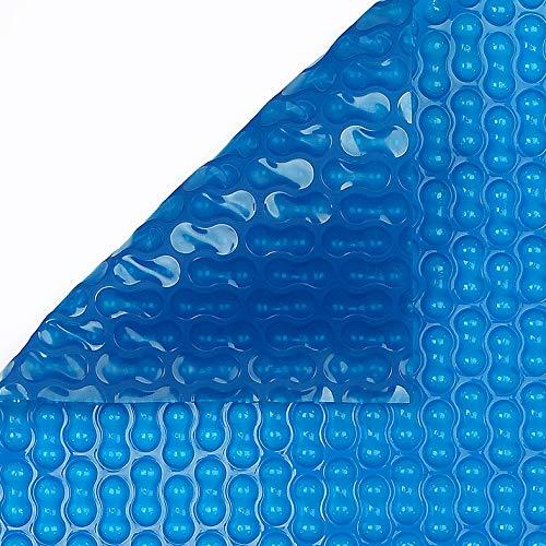 Copertine termiche geobubble 6 x 16 metri con rinforzo sui due lati Southside Slim 400 micron spessore piscina