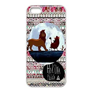 JamesBagg Phone case Hakuna Matata-Lion King quotes series protective case cover For Iphone 4 4S case cover C-HKN94987