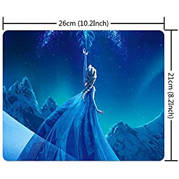 Once Upon a time Elsa Frozen Large Mousepad