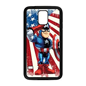 Personalized Fantastic Skin Durable Rubber Material Samsung Galaxy s5 Case - Marvel's The Avengers