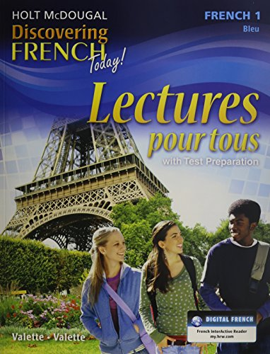 - Discovering French Today: Lectures pour tous Student Edition Workbook Level 1 (French Edition)