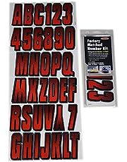 Hardline Products REBKG300 Red/Black Number Factory Matched Registration Kit