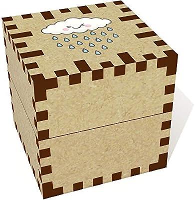 Azeeda Pequeña Feliz Nube de Lluvia Joyería Caja (JB00052618): Amazon.es: Juguetes y juegos