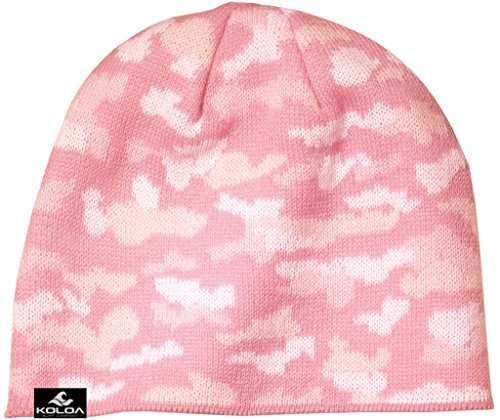 Wave Rasta Beanies - Joe's USA Koloa Surf Classic Everyday Beanie -Camo Pink