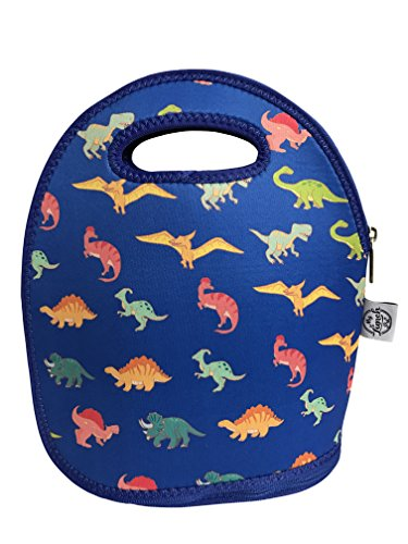 Kid MyLunchPal Neoprene Lunch Bag Mat (dinosaurs with - Dinosaur Insulated Lunch Box