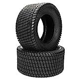 2pcs Lawn & Garden Tires 23/10.50-12 23X10.50-12 4PR Tubeless Turf Tires Golf Cart Tire P332
