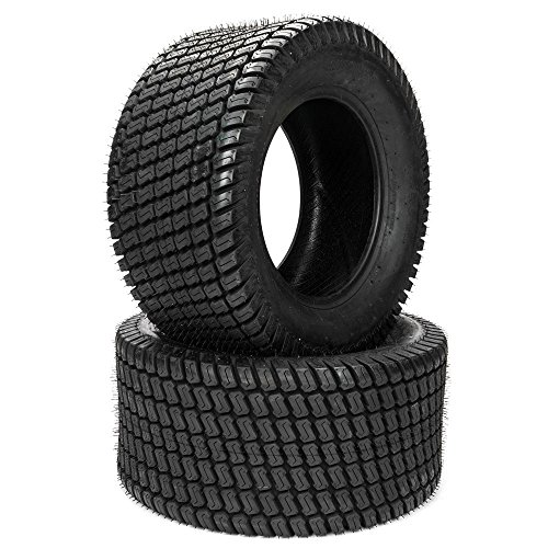 2 24X12.00-12/24x12x12 4 Ply Turf Lawn Tractor Mower Tires