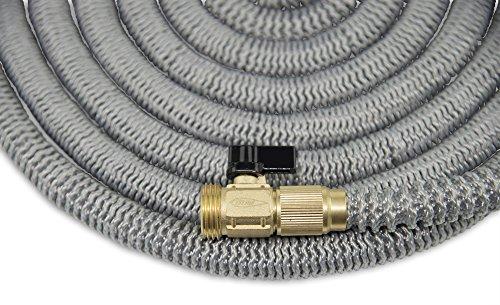 50 foot expanding garden water hose by titan premium for 50ft garden design