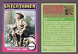 """Buffalo"" Bill Cody 2009 Topps American Heritage**Entertainer-Showman** (1975 Topps Baseball Design)"