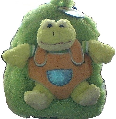 Pecoware Best Buddy Green Frog Backpack with Removable Wheels by PECO
