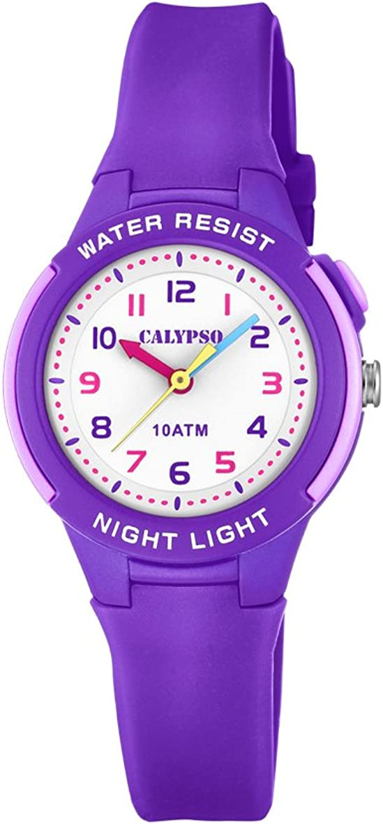 Calypso Reloj Análogo clásico para Unisex de Cuarzo con Correa en Plástico K6069/4