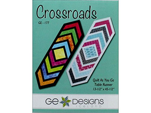 G.E. Designs GE Designs Crossroads Table Runner Ptrn