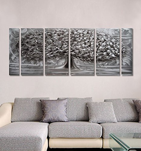 Winpeak hand painted abstract painting great tree for Home decor uae