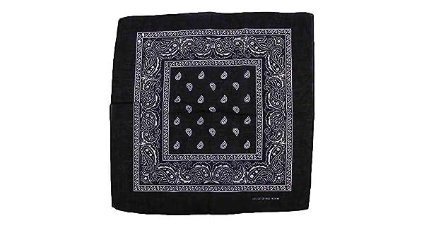MZY1188 Paisley Bandana, pañuelo para Mujer/Hombre Pañuelo de ...