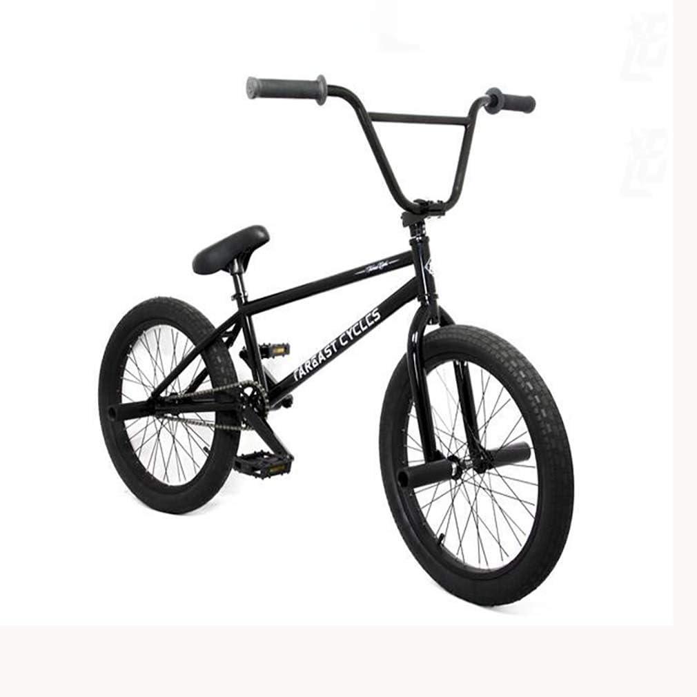 GASLIKE Bicicleta BMX para Adolescentes y Adultos: Ciclistas Principiantes a avanzados, Ruedas de 20 Pulgadas, Cuadro de Acero con Alto Contenido de Carbono, Engranaje BMX 25x9T